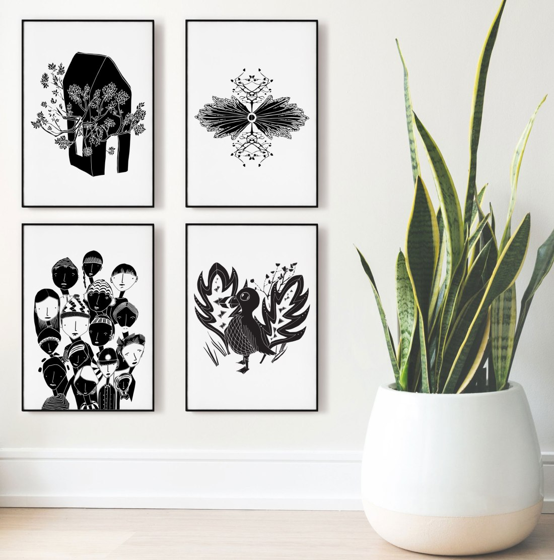 Annex Collections - Black and White Art Posters - Digital download and prints signed by Artist