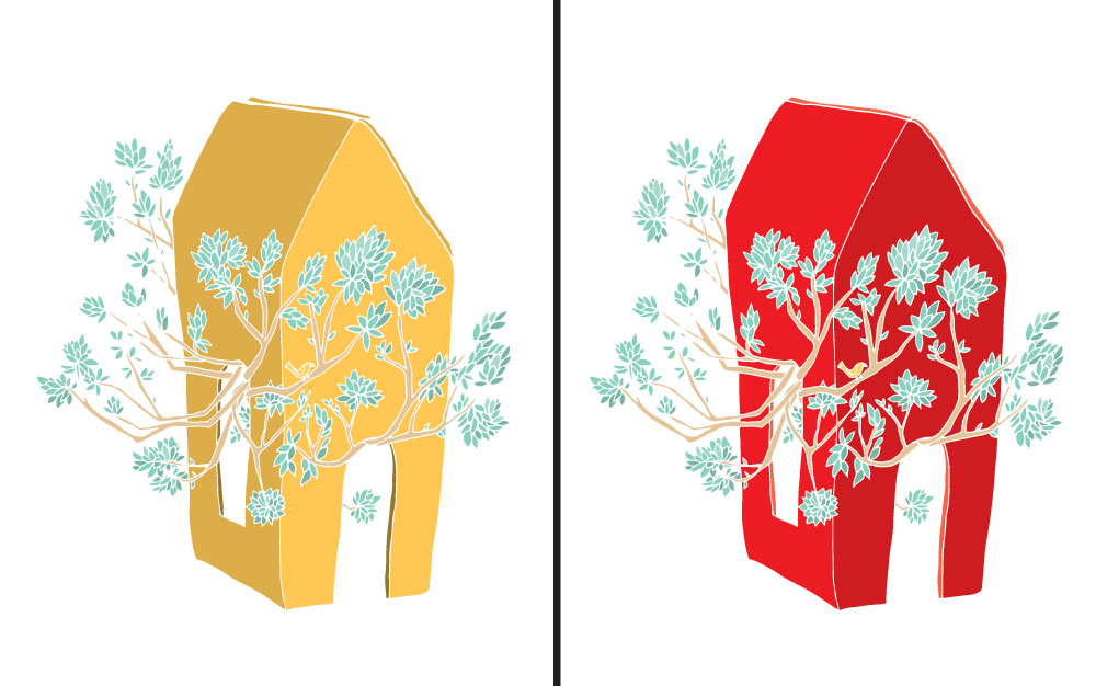 Break Free Illustration by Brina Schenk - Custom Colour Options to suit your home or office