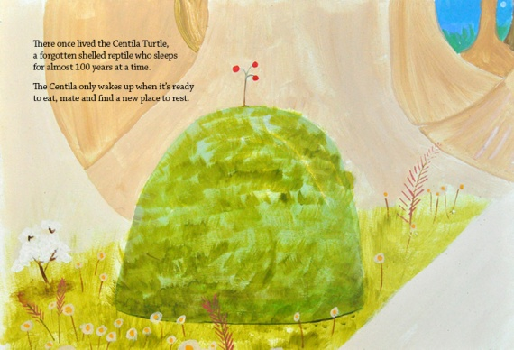 The Traveller by Brina Schenk - short story illustrated children's book about following your dreams