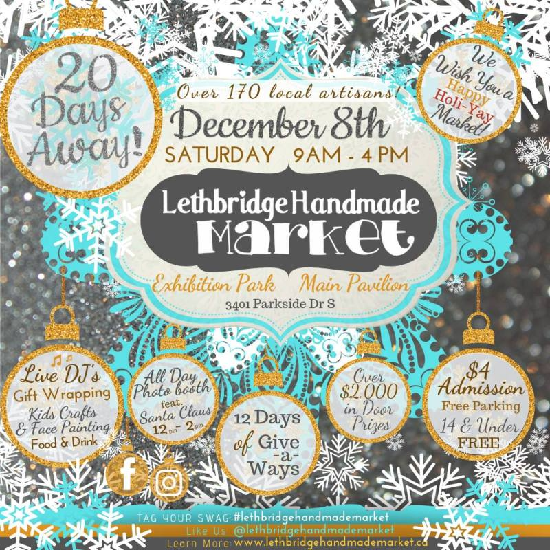Lethbridge Handmade Market Dec 8, 2018