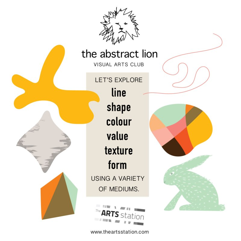 Elements of Art - Visual Arts Club for kids in Fernie, BC - Brina and Raegan at The Arts Station