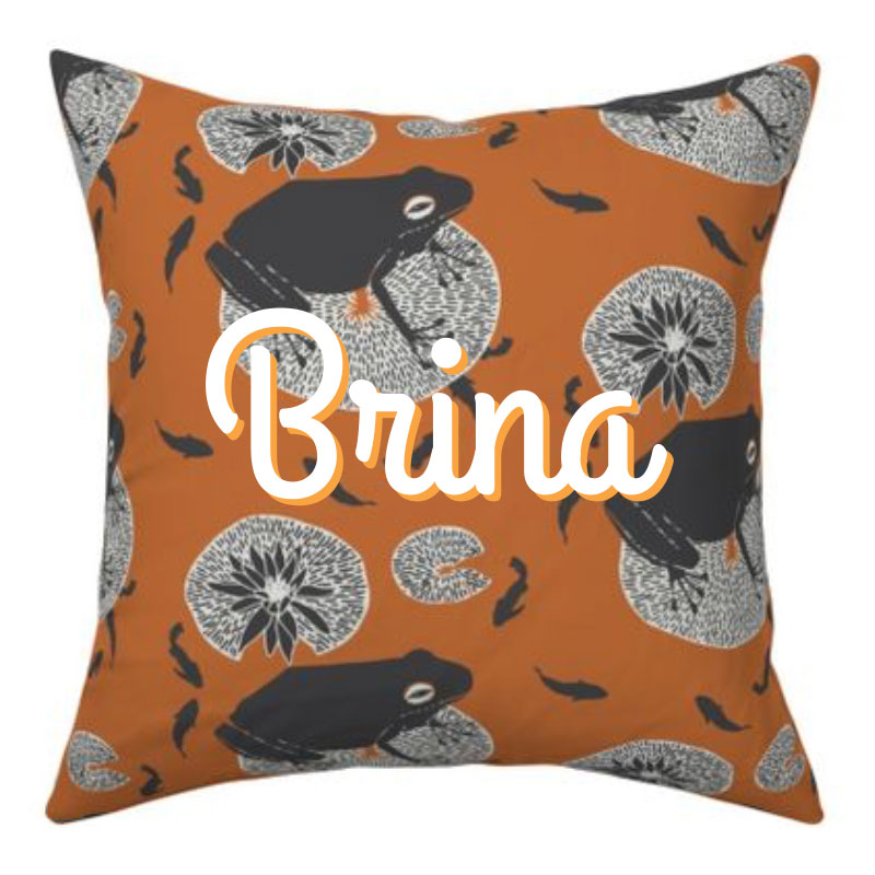 Brina Schenk on Spoonflower - cool fabric, wallpaper and gift wrap